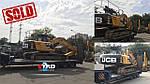 Еще один счастливый покупатель! Гусеничный экскаватор JCB JS 220 LC 2012 года уехал в Харьковскую область.