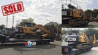 Ще один щасливий покупець! Гусеничний екскаватор JCB JS 220 LC 2012 року поїхав в Харківську область.