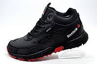 Зимние кроссовки в стиле Reebok Sawcut 3.0 GTX, Black (На меху)