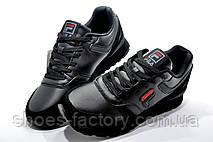 Мужские кроссовки в стиле Fila, All Black, фото 3