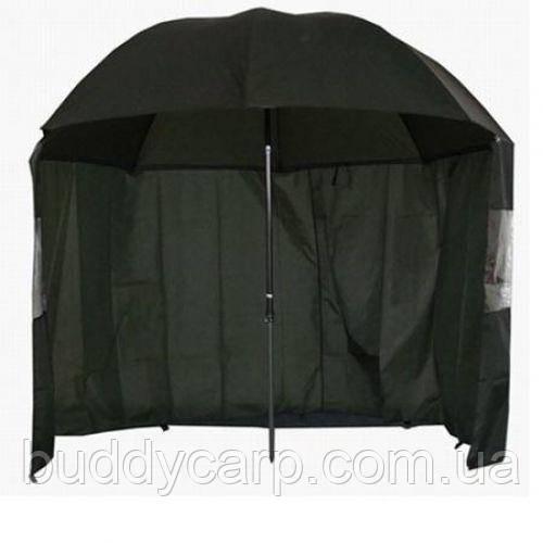 Зонт-палатка диаметр 2.2 метра (2 окна ПВХ)