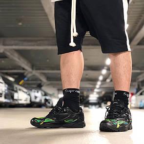 Мужские кроссовки Nike ZM STRK Spectrum PLS Supreme Black ( Реплика ), фото 2