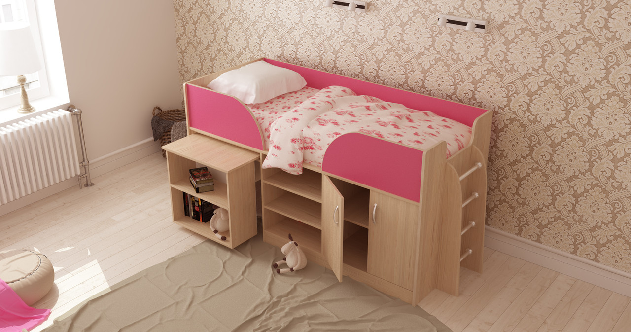Ліжко-трансформер Пумбу Ліон
