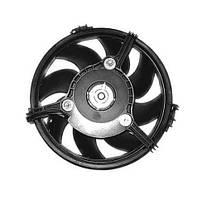 Вентилятор радиатора Audi A6 1997- (овальный разъём)