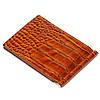 Зажим для денег кожаный коричневый Karya 0902-61, фото 3