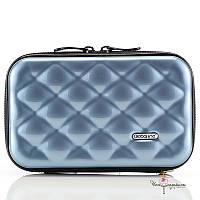 Стильный голубой кейс-сумка на каждый день