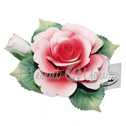 Фигурка-статуэтка из фарфора «Розы», h-10х4 см