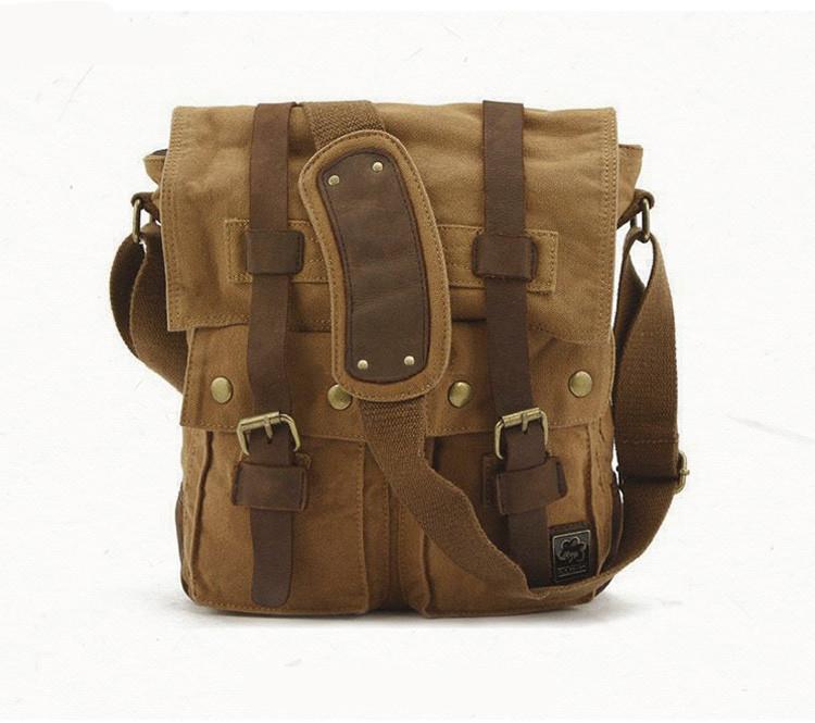 Мужская сумка S.c.cotton Коричневый