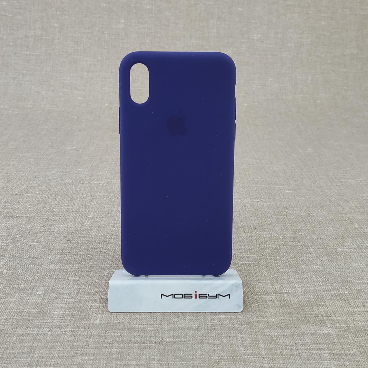 Накладка Apple iPhone X violet