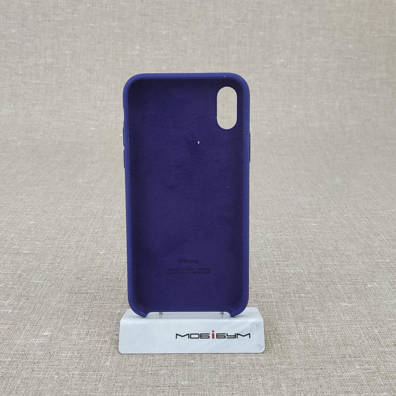 Накладка Apple iPhone X violet Для телефона Чехол