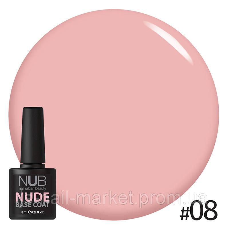 NUB Base NUDE #08