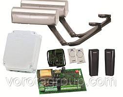 Автоматика FAAC 390 стулка до 1,8 до 3 м для розпашних воріт (комплект)