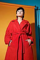 Пальто шерстяное,пальто красное,модное красное пальто,пальто шерсть женские,пальто женское стильное