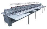 """VELLES VE 1210H-W Промышленная 10-головочная вышивальная машина для """"плоской"""" вышивки"""