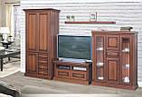 Шкаф Набукко трехдверный 1,47 (Скай) 1470х2120х590 мм., фото 6