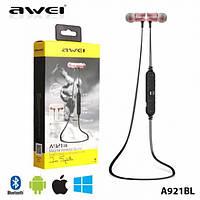 Беспроводные спортивные наушники Bluetooth Awei A921BL