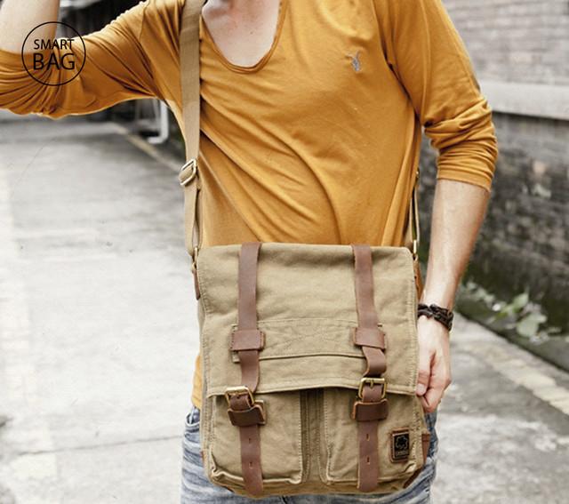 Мужская сумка S.c.cotton | хаки