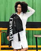 Косуха женская,красивая женская косуха,косуха с молниями,косуха черная,модная женская куртка,женские косухи