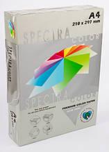 Бумага цветная А4 500 листов 80 г/м2 Spectra color IT272 серый интенсив
