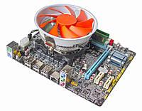 Материнская плата E5 V5.32 + Xeon E5-1410 2.8-3.2 GHz + 8 GB RAM + Кулер, LGA 1356, фото 1