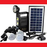 Система Освещения GD 8033 Solar Board с тремя лампами