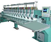 VELLES VE 1516H-W Промышленная 16-ти головочная 15-ти цветная вышивальная машина для плоской вышивки