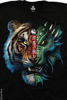 Футболки Liquid Blue TIGER DRAGON 31217