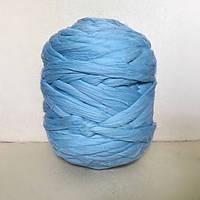 Толстая пряжа мериноса 100 % Голубой 21 микрон