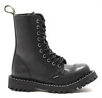 Черные женские ботинки Glany STEEL 105 Black на 10 дырок bf3509b363a50