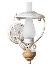 """Настольная лампа в стиле лофт """"Керосинка"""" старая бронза, фото 2"""