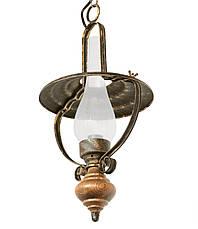 """Настольная лампа в стиле лофт """"Керосинка"""" старая бронза, фото 3"""