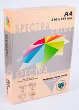 Бумага цветная А4 500 листов 80 г/м2 Spectra color 150 персик пастель
