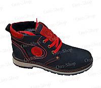 Подростковые кожаные ботинки зима