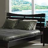 """Деревянная двуспальная кровать """"Монтана"""" из массива, фото 2"""