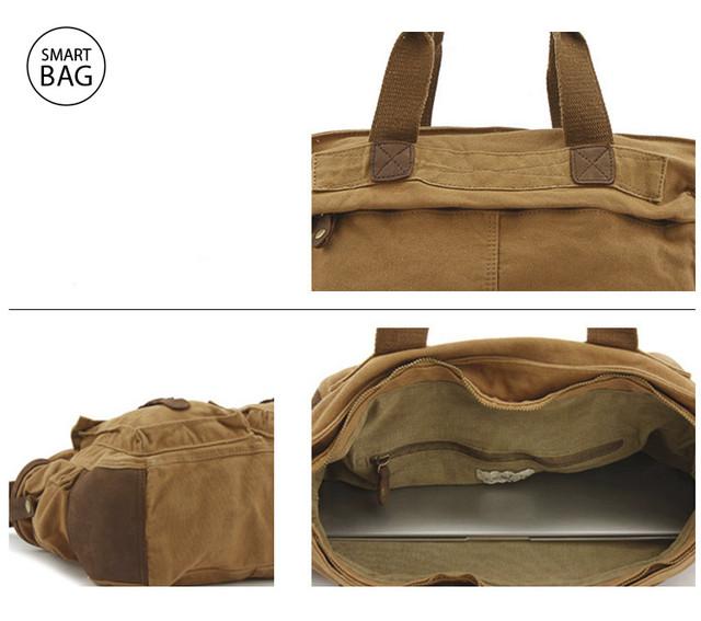 Мужская сумка милитари S.c.cotton