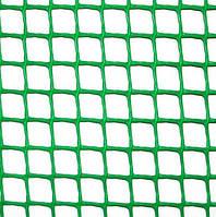 Клевер Сетка пластиковая 'забор' яч. 85х95 мм, рул. 1х20 м (темно зеленая)