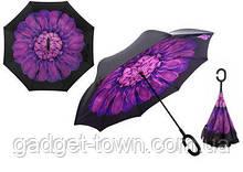 Зонт наоборот с ручкой крюк El 8881