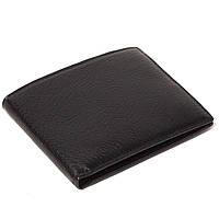 Мужской кошелек кожаный чёрный Eminsa 1051-12-1