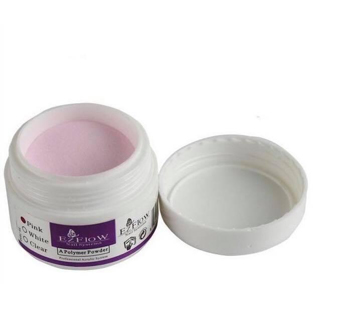 Акриловая пудра EzFlow розовый 15 г