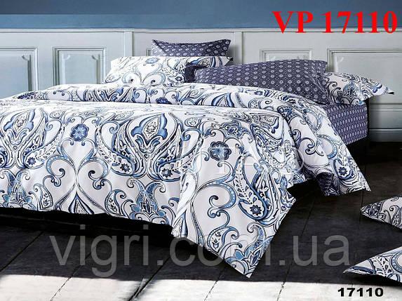 Постельное белье, евро комплект, ранфорс, Вилюта (VILUTA) VР 17110, фото 2