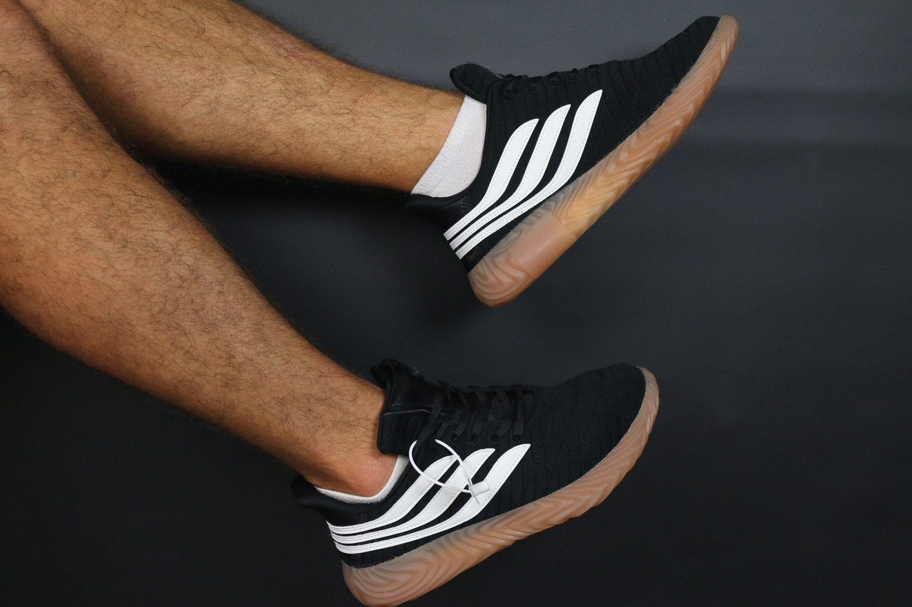 Копія Мужские кроссовки Adidas Sobakov Core Black be51103be1f68