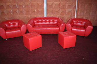 Крісло червоне Магнат, оренда, фото 2