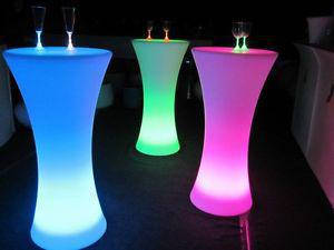 Барний стіл з LED-підсвіткою, оренда, фото 2