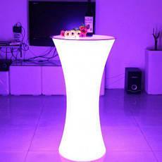 Барний стіл з LED-підсвіткою, оренда, фото 3