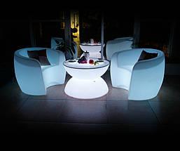 Кавовий стіл, що світиться. оренда, фото 3