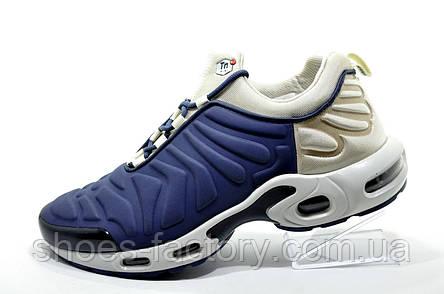Кроссовки мужские в стиле Nike Air Max Plus TN Slip On, Gray\Blue, фото 2