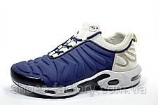 Кроссовки мужские в стиле Nike Air Max Plus TN Slip On, Gray\Blue, фото 3