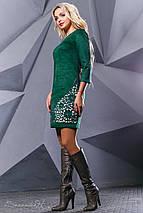 Женское замшевое платье с перфорацией (2401-2413-2414-2415 svt), фото 3