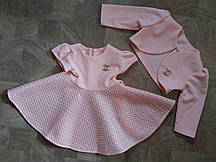 Комплект для девочек платье и болеро только оптом (0609/10)