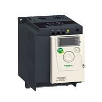 Преобразователь частоты 1.5 кВт 220В 1Ф Altivar 12 ATV12HU15M2